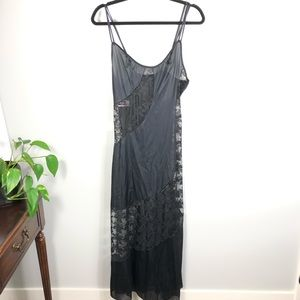 Vintage Fredericks of Hollywood Sheer Lace Nighty